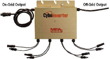 On/Off-Grid Inverter supports PV water heating.