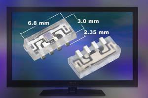 Digital Ambient Light Sensor conserves space in TVs, handhelds.