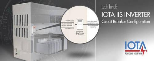 Circuit Breaker Configuration for IIS-375 and IIS-550 Models