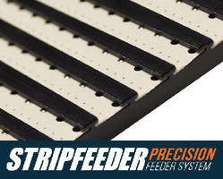 Strip Feeder Systems utilize precision plates.