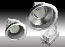 LED Downlight Retrofits increase commercial lighting efficacy.