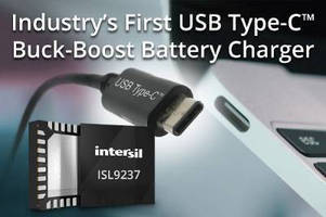 Buck-Boost Battery Charger supports USB Type-C connector.