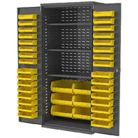 Storage Bins offer large capacity in small footprint.