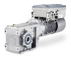 Gear Motor Drive offers flexible control and integrated safety.