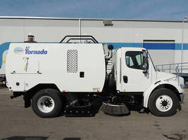 High-Performance Sweepers offer compact wheelbase.