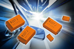 Fail-Safe SMD Capacitors satisfy automotive application needs.