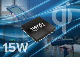 Wireless Power Transmitter IC delivers 15 W.