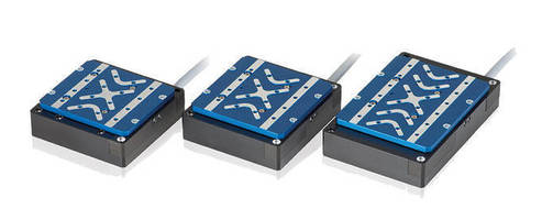 Voice Coil-Driven Linear Scanning Stages has 0.1 µm resolution.