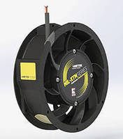 High-Output Tubeaxial Fan helps keep electronics cool.