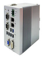 Fanless Embedded Controller operates from -40 to 80°C.