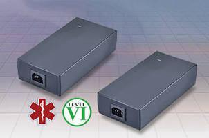 Desktop Power Supplies meet ITE, medical application standards.