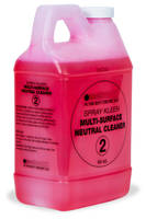 Floor Cleaner enhances sanitary conditions, reduces slip hazard.