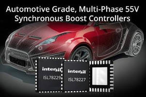 Boost Controllers simplify automotive power system design.