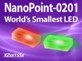 "SunLED Introduces the World's Smallest SMD LED "" NanoPoint-0201"