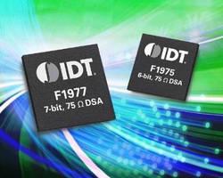 Digital Step Attenuators target broadband and CATV markets.