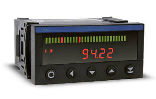 Universal Bar Graph Meters are accurate to ±0.1% of range.