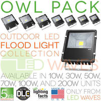 Owl Pack Outdoor LED Flood Lights Added to the DLC Qualified Products List