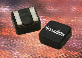 SMD Power Inductors feature metal-hybrid construction.