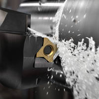Steel Turning Tool offers stable insert clamping.