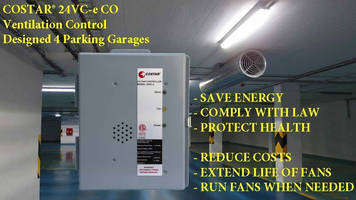 Slash your Parking Garage Energy Bills by Downshifting your Exhaust Fans Using Demand Control Ventilation Systems