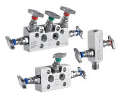Valve and Manifold Accessories work with pressure instruments.