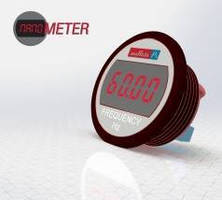 Self-Powered LED Meter displays AC line frequency.