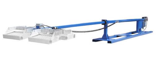 Horizontal 1.600 W LED Light Mast produces 508,000 lm.