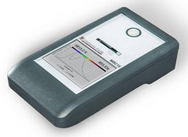 Spectral Light and Color Meter simplifies measurement process.