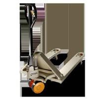 Powered Scissor Lift Pallet Truck avoids unnecessary bending.