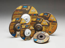 Grinding Wheels help minimize operator fatigue.
