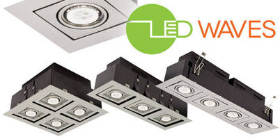 Recessed Spotlight Fixtures feature LED MR16 bulbs.