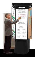 Rotating 5-Sided Display moves info off walls and into traffic.