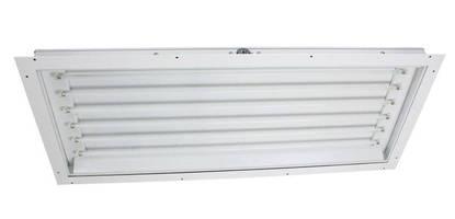 Lay-In Panel Light Fixture operates in hazardous locations.
