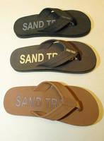 Sand Traxx Imprint Sandals Feature Water Jet Cut Rubber Components