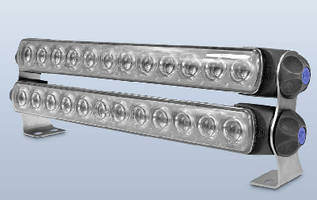LED Light Bar features aerodynamic, low-profile design.