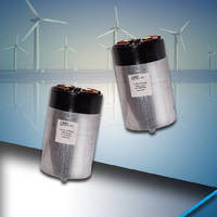 Dry Film Capacitors suit DC filtering applications.