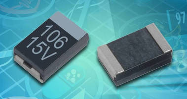 Solid Tantalum Capacitors are designed for medical applications.