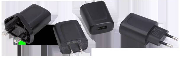 External USB Power Adapters meet efficiency, safety regulations.