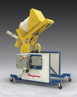 Mobile Drum Dumper features dust-tight design.