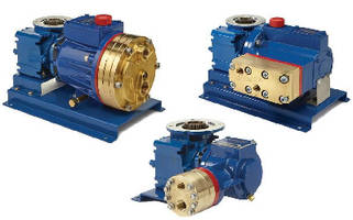 Metering Pumps offer brass manifold option.