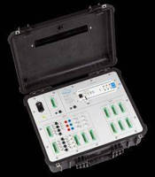 Universal Measurement Case accepts variety of data loggers.