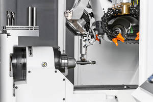 Automatic Loading System enhances tool grinding productivity.