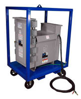 Power Distribution System (10 KVA ) has 480 V welding receptacles.