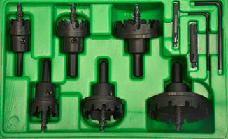 Carbide Cutter Sets offer various sizes to aid trade technicians.