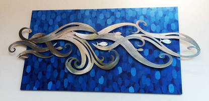 Artist Uses Peifer WaterJet for Precision WaterJet Cutting Services