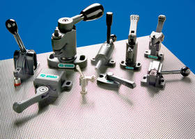 Fixtureworks Offers Extensive Lineup of 'One-Touch' Manual Clamps