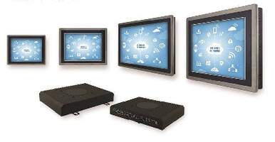 Smart HMI Panels offer cloud computing ready capabilities.