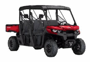 Utility-Recreational Vehicles seat up to 6 adults.