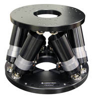 Hexapod Positioner delivers sub-micrometer precision.