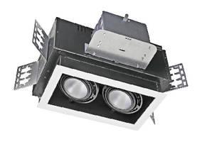 Recessed Ceiling Luminaires utilize 1-4 LED modules.